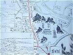 江戸期の谷中地図