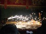 最後の演目「龍・獅子・鳳凰・亀の共演」