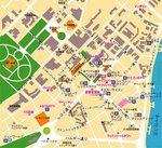 ホーチミン市中心部マップ