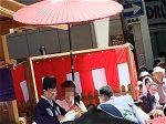 裃袴姿の京都市長