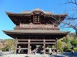 鎌倉五山第一位の建長寺三門