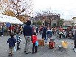 町内会の餅つき大会