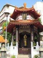 日本国軍属として戦場に散華した台湾戦没者三万三千余柱の英霊を祀る和平英魂観音亭