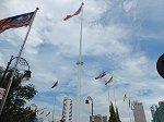 高さ100mの世界一の国旗掲揚塔