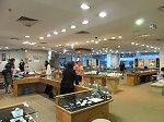 マレーシアの中心街「ブギッ・ビンタン」にある金の宝飾店「ケルビン・ジェムズ」
