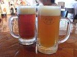 伊豆高原ビール醸造所で地ビールの飲み比べ