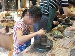 初めての陶芸でも、てびねりで上手に湯呑みを作成