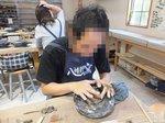 湯呑、茶碗、皿など粘土1kgで何個でも作れる「てびねり陶芸体験」