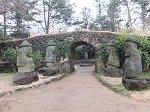 済州のシンボル、トルハルバン(石のおじいさん)