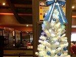 館内に飾られたクリスマス・ツリー