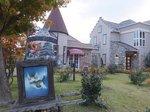 河口湖木ノ花美術館直営のレストランカフェ「オルソンさんのいちご」