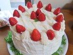 26cm3段のケーキ