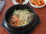 韓国伝統料理の石焼ピビンパ(慶州)