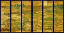 国宝「山水屛風」京都国立博物館蔵