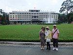 ベトナム戦争終結のシンボル「統一会堂(トンニャット宮殿)」