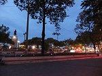 黄昏時のサイゴン川