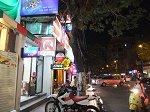 ドンコイ通りの夜景