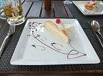 デザートのタルトケーキ