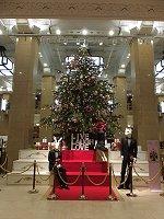 日本橋高島屋のクリスマスツリー