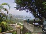 軽便路の展望所から東シナ海を望む