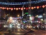 クアラルンプール繁華街の夜景