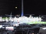クアラルンプールの夜景のジオラマ模型