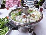 スチームボート、マレーシア風野菜一杯寄せ鍋
