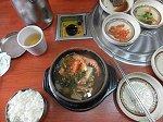 海鮮トクべギの昼食