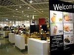 IKEA港北店フードコート