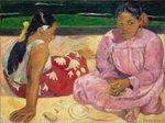 ポール・ゴーギャン「タヒチの女たち」