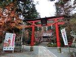 亀岡鍬山神社の紅葉