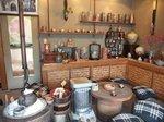 陶房内の作品