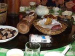 ヤオ族郷土料理「竹筒飯」