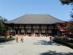 天平の甍で知られる唐招提寺金堂
