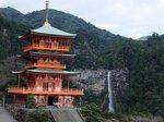 那智の滝と那智山青岸渡寺三重塔