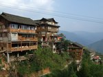 宿泊した民宿風ホテル「龍穎飯店」