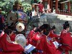 チャングムの誓い舞台、世界遺産に登録された昌徳宮の記念日で古式豊かな韓国服と音楽